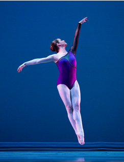 Olympic ballet performance